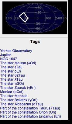 SDSS boundry markings